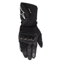 Black Alpinestars Mens Gt-s X-trafit Gore-tex Leather Textile Gloves 2014
