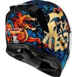 Icon Airflite Good Fortune Full Face Helmet Blue