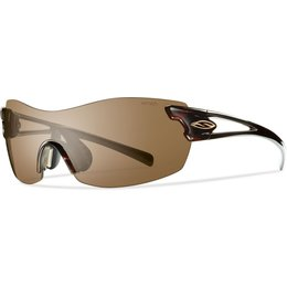 Smith Optics Womens PivLock Asana Interchangeable Carbonic TLT Sunglasses Brown