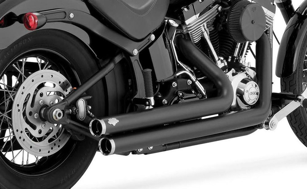 $714 99 Vance & Hines Big Shots Staggered Dual Exhaust #973123
