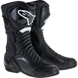 Alpinestars Mens SMX-6 SMX6 V2 Sport Fit Performance Riding Boots Black
