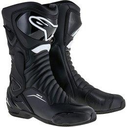 Alpinestars Mens SMX-6 SMX6 V2 Sport Fit Performance Riding Boots Black