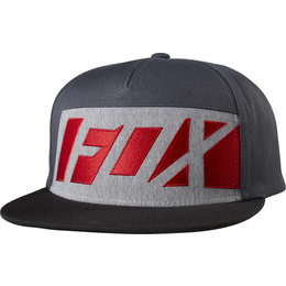 Fox Racing Mens Seca Wrap Adjustable Snapback Hat Black