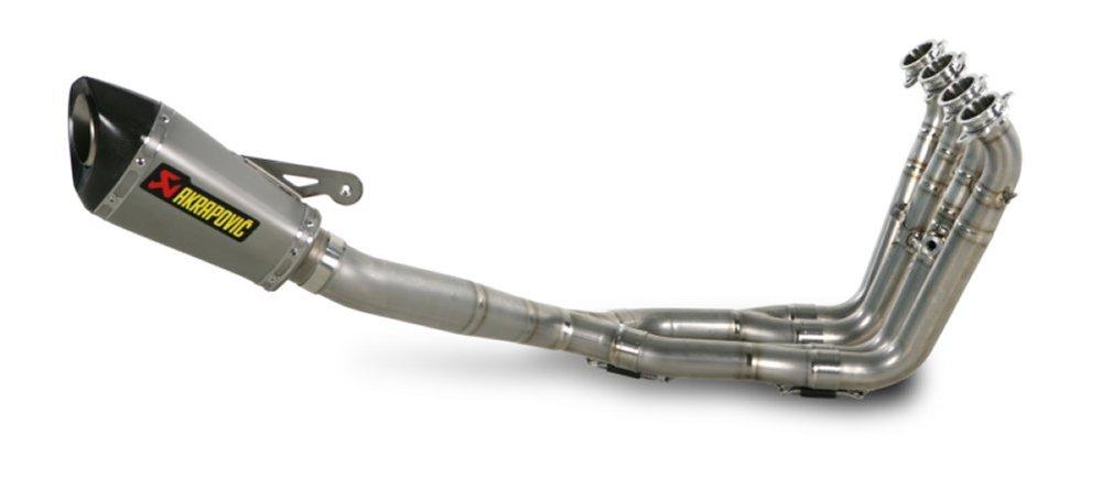 1 696 95 Akrapovic Racing 4 2 1 Shorty Full Exhaust 147653