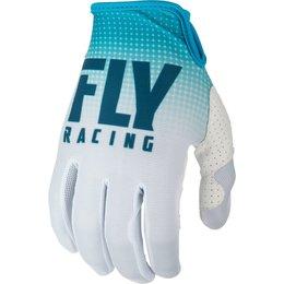 Fly Racing Mens Lite Hydrogen Gloves Blue