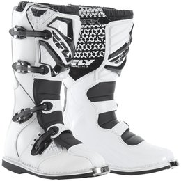 Fly Racing Youth Boys Maverik MX Boots White
