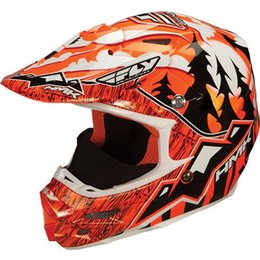 Orange Hmk F2 Carbon Pro Snow Helmet