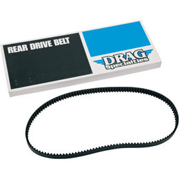Black Drag Specialties Drive Belt Rear 1 Inch 137 Tooth For Harley Flht R X Fltr Xr