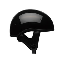 Bell Powersports Pit Boss Sport Solid DOT Approved Half Helmet Black