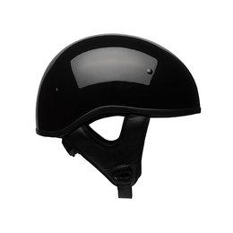 Bell Powersports Pit Boss Sport Solid DOT Approved Half Helmet Black