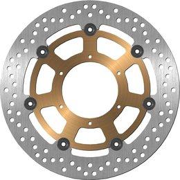 BikeMaster Front Brake Rotor Billet Aluminum For Honda CBR600F4i 2004-2006 1289 Unpainted
