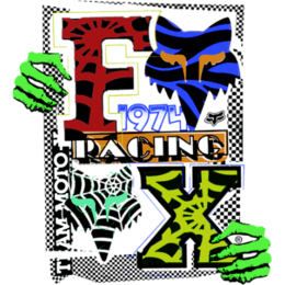 Misc Fox Racing Deadstock Sticker Decal 6.25 Inch