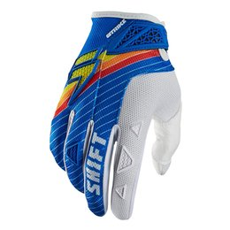 Shift Racing Mens Strike Stripes Gloves 2015