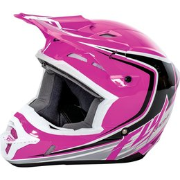Fly Racing Youth Girls Kinetic Fullspeed Helmet Pink