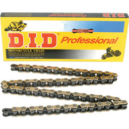 DID Chain 520 VT2 Narrow T-Ring Chain 120 Links Gold Universal