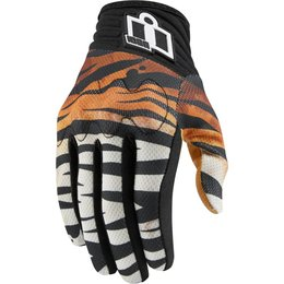 Icon Womens Anthem Shaguar Touchscreen Capable Mesh Riding Gloves Black