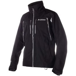 Klim Mens Tomahawk Gore-Tex Fleece Collar Textile Snowmobile Parka Black