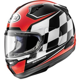 Arai Signet-X Finish Full Face Helmet With Flip Up Shield Red