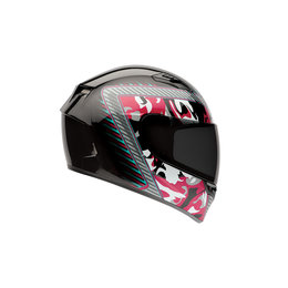 Bell Powersports Womens Qualifier Camo Full Face Motorcycle Helmet Black