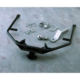 Chrome Show Receiver Hitch Kit Black For Honda Gl1500 Goldwing