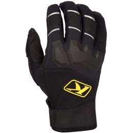 Klim Mens Dakar MX Offroad Breathable Textile Gloves Black