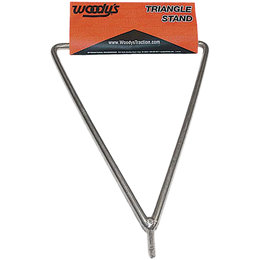 Woody's Triangle Stand Universal Fit 18 And 19 Inch Hallow Axle Wheels TRI-STAND Unpainted