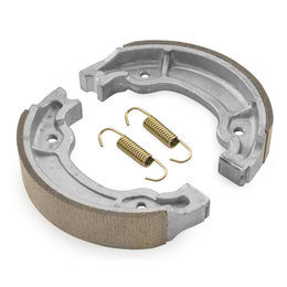 BikeMaster Replacement Brake Shoes For Yamaha MBS2220A Unpainted
