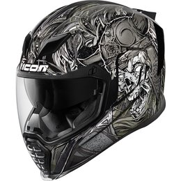 Icon Airflite Krom Full Face Helmet Black