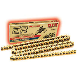 DID Chain 520 ERV3 ER Series Racing X-Ring Chain 120Links Gold Universal