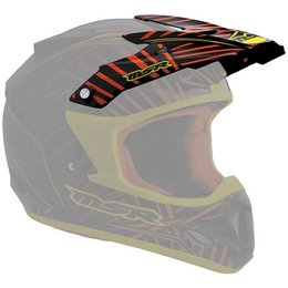 Violet, Red Msr Replacement Visor For 2012 Velocity Burst Helmet Violet Red