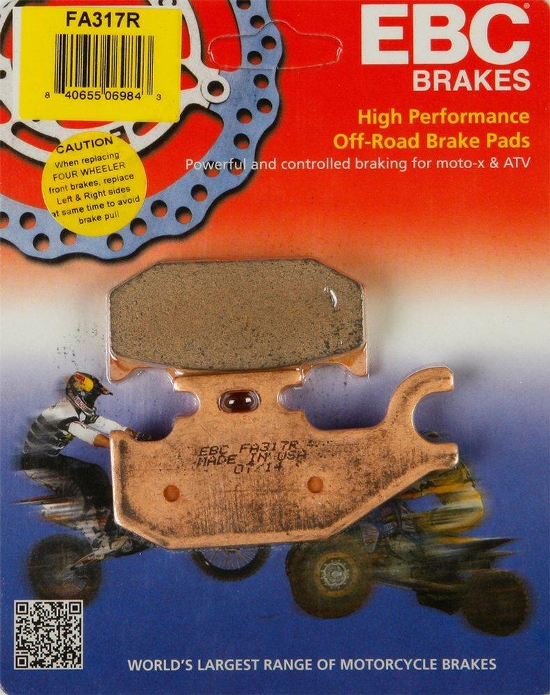 EBC severe duty front /& rear brake pads kit Can-Am Outlander 400 500 650 800