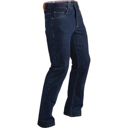 Fly Racing Mens Resistance Ararmid Reinforced Riding Jeans Blue