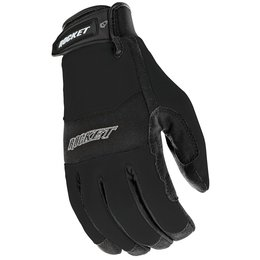 Black Joe Rocket Mens Rx14 Rx-14 Crew Touch Textile Gloves 2014