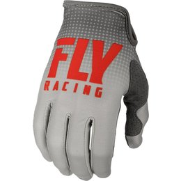 Fly Racing Mens Lite Hydrogen Gloves Red