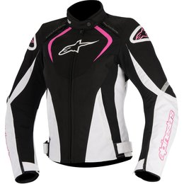 Alpinestars Womens Stella T-Jaws Waterproof Armored Textile Riding Jacket Black