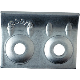 Woody's Bender Stud Mate Lightweight Aluminum 48-Pack AWL-3750-B Unpainted