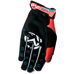 Moose Racing Mens MX1 MX Gloves Red
