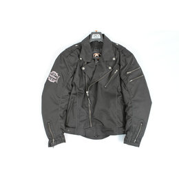 Black Fieldsheer Mens Drifter Textile Jacket Ls