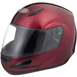 Wine Gmax Gm44 Flip Up Helmet
