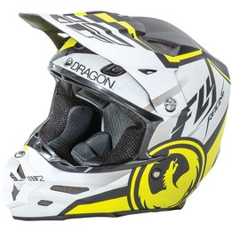 Fly Racing F2 Carbon Dragon Alliance Helmet White