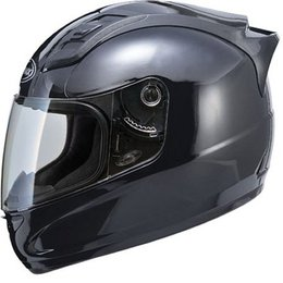 Black Gmax Gm69 Full Face Helmet