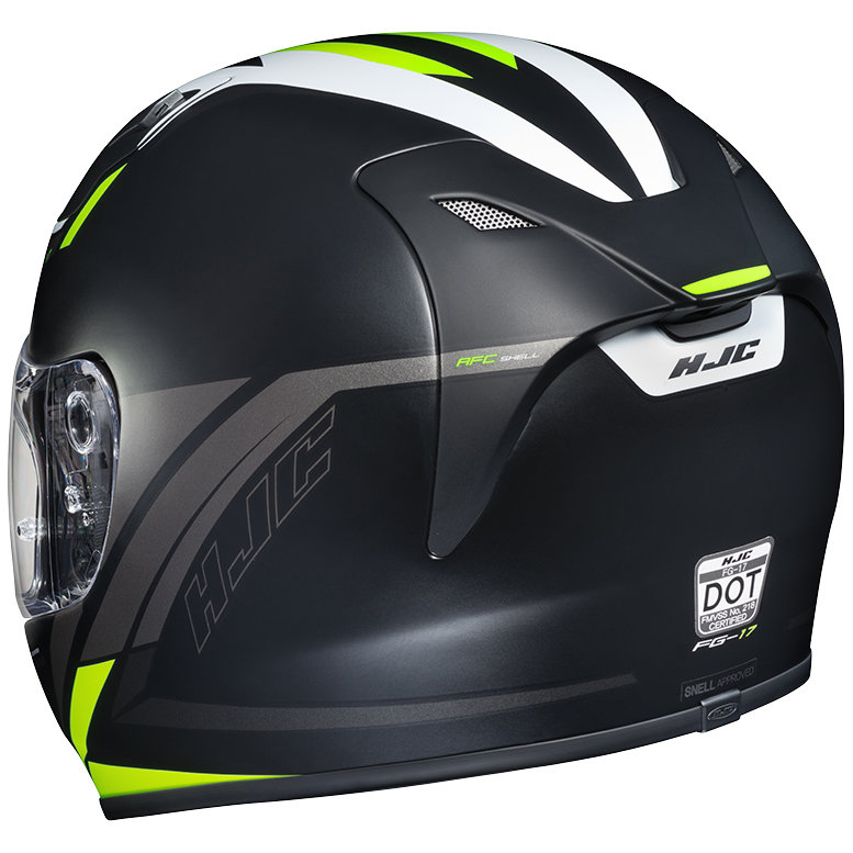 hjc fg 17 fg17 valve full face motorcycle helmet 1017195. Black Bedroom Furniture Sets. Home Design Ideas