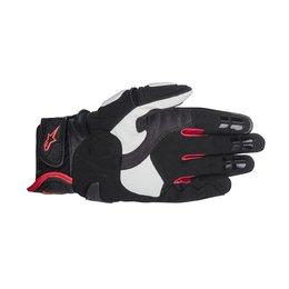 Black, White, Red Alpinestars Mens Gp-air Leather Gloves 2014 Black White Red