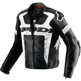 Spidi Sport Mens Warrior Pro Leather Jacket Black