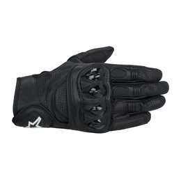 Black Alpinestars Mens Celer Leather Gloves 2014
