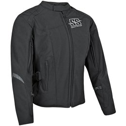 Speed & Strength Womens Backlash Armored Textile Jacket Black