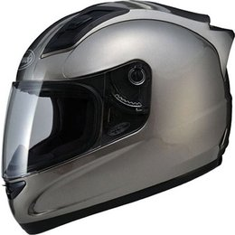 Titanium Gmax Gm69 Full Face Helmet