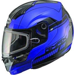 GMAX 04 Modular Snowmobile Helmet Blue
