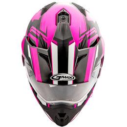 GMAX Womens GM11 GM-11 Vertical Snowmobile Helmet With Dual Pane Shield Black