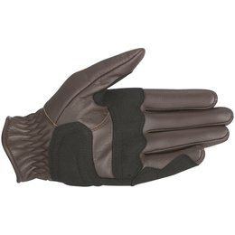 Alpinestars Mens Oscar Collection Rayburn Leather Gloves Brown